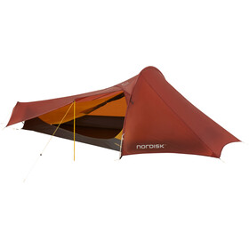 Nordisk Lofoten 2 Ultra Light Weight Tent SI Burnt Red
